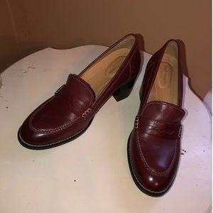 Hush Puppies 8.5 Oxblood Loafers NWOT